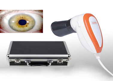 China Gesundheits-Test-Maschine USBs Iriscope 5MP Quantum Iris-Analysator Iridology-Kamera mit Proiris-Software distributeur